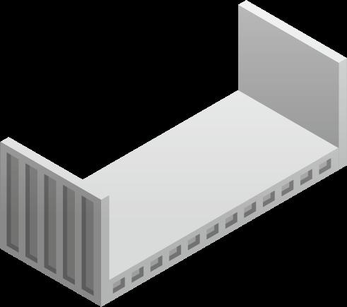 Kontenery flat rack