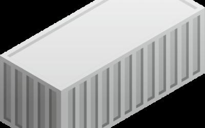 Uniwersalne kontenery morskie ogólnego przeznaczenia (dry containers)